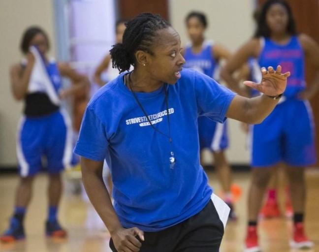 WNBA Chaplain Fleceia Comeaux
